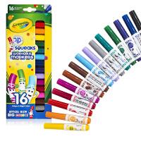 绘儿乐16色可水洗短杆粗头水彩笔58-8703