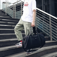 新款健身包男运动包手提单肩斜跨旅行包女牛津纺健身包女带小包