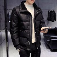 皮棉衣男士冬季外套韩版潮流帅气2019年新款毛领棉袄冬装