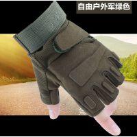 半指手套男士骑行手套户外运动健身战术手套山地车自行车骑车手套