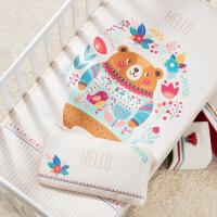 可机洗婴儿床凉席夏季儿童冰丝席新生儿宝宝凉席幼儿园席子定制定制