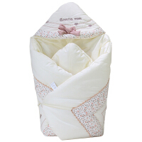 婴儿抱被春秋冬可脱胆被子加厚新生儿用品薄款襁褓宝宝包被ZQ102 立体兔 一体的 春秋款