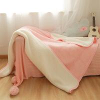 珊瑚绒毛毯床单被子法兰绒毯子冬季加厚保暖双人可爱学生单人宿舍k