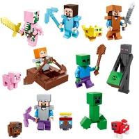 我的世界玩具 积木玩具人仔儿童男孩拼装积木公仔小人偶