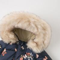 davebella戴维贝拉童装冬季新款女童加厚棉服 宝宝棉衣DBJ11915