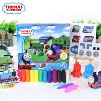托马斯3D彩泥 24色主题模具套装 无毒橡皮泥 儿童DIY创意玩具