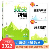 拔尖特训六年级上册数学人教版2021新版