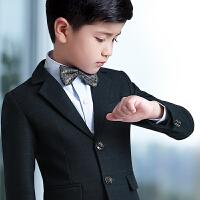 男童小西装套装三件套夏季花童礼服男儿童钢琴演出服小主持人表演服