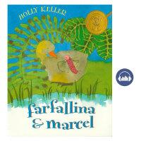 Farfallina & Marcel 毛毛虫和大雁 友谊成长故事绘本获奖 获奖绘本 启蒙绘本 英文原版绘本