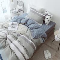 单人棉大学寝室床单被套三件套女男学生宿舍3床上1米2被罩枕套m 单人床/上下铺