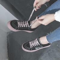 BANGDE软妹帆布鞋女2018冬新品板鞋女街拍百搭学生韩版原宿ulzzang