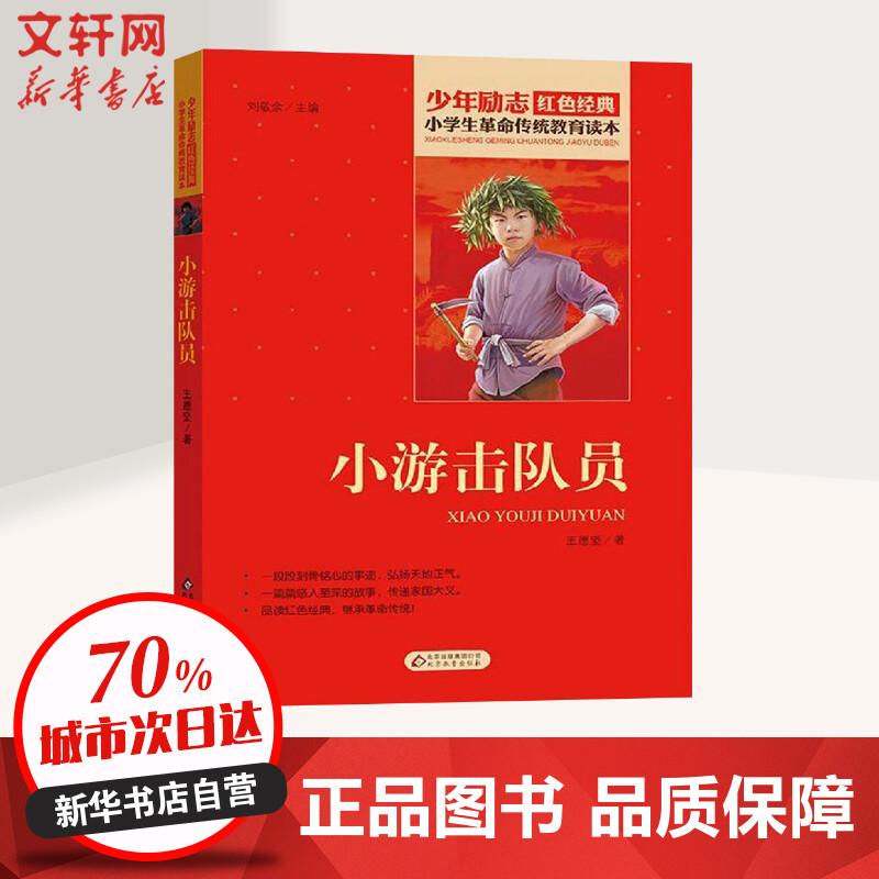 小游击队员 北京教育出版社 【文轩正版图书】