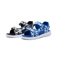 特步 正品童鞋儿童时尚休闲凉鞋男童鞋夏季防滑男童中大童沙滩鞋682215509713