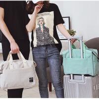茉蒂菲莉 手提旅行包 女男多功能大容量韩版简约纯色旅行袋行李包防水旅游包