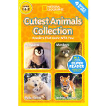 National Geographic Readers: Cutest Animals Collection (Lev