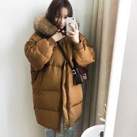 新年特惠棉衣中长款女士棉袄女装冬装新款面包服棉袄女中长款2019新款韩版加厚学生外套