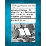 【预订】Ames on Forgery: Its Detection and Illustration, with N