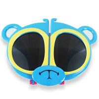 2019防紫外线儿童眼镜墨镜偏光男童女童太阳镜遮阳舒适潮折叠