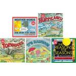 盖尔 吉本斯少儿百科天气四季系列 英文原版 Gail Gibbons 这是什么呀 5册 风雨雪 春夏秋冬 小学STEM