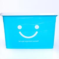 收纳箱塑料特大号加厚衣服储物箱家用有盖棉被整理箱收纳盒三件套 超划算套装 120L 180L 250L(3个装