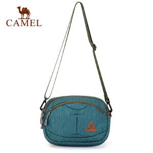 camel骆驼户外男女挎包 3L简约户外单肩斜挎手提两用肩包