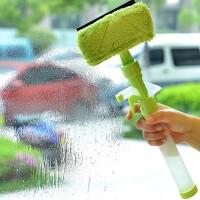 多功能可喷水窗户玻璃清洁器玻璃刮瓷砖清洁工具清洁刷擦窗器清洁器