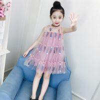 儿童女童连衣裙夏装2019新款3小孩4短袖5洋气夏天公主裙子6岁女孩