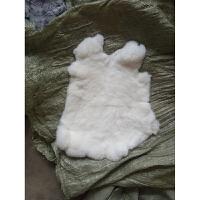 兔皮整张獭兔毛皮料整皮獭兔毛原料DIY护膝护腰兔毛皮皮草面料皮y