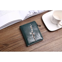 零钱包女士短款新款学生小清新折叠可功能韩版个性皮夹