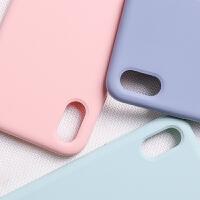 苹果X手机壳液态硅胶iphone xs max高档xs全包iPhoneX防摔xsmax新款iPhone x女潮X男软套