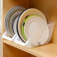 放碗碟架沥水架厨房餐具收纳架塑料家用放碗餐盘架锅盖架子