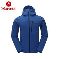 Marmot/土拨鼠秋冬新款户外男保暖吸湿排汗M2软壳衣