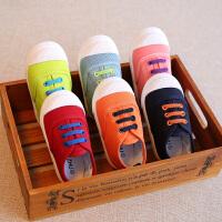 春秋儿童帆布鞋男童女童宝宝布鞋小童球鞋板鞋婴儿软底鞋子
