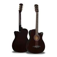 民谣吉他单板吉他初学者学生用 38寸吉他男女生款民谣木吉他入门乐器