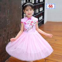 女童夏装连衣裙大童女装七6八10十11-12岁小学生女孩儿童公主裙子