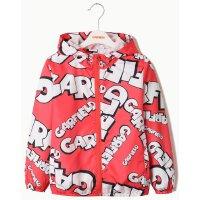 加菲猫儿童外套夹克 新款休闲运动外套中大童长袖时尚外套上衣GJCA1705