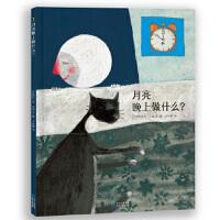 【旧书二手书9成新】月亮晚上做什么? (比)安艾珀 文/图 王妙姗 9787221128348 贵州人民出版社