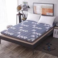 学生全棉加厚绗缝0.9米床垫单人纯棉折叠床褥榻榻米床护垫1.8m米