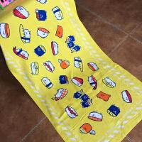 儿童浴巾棉吸水卡通洗澡动漫可爱柔软游泳学生大号60*120cmy
