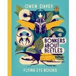 英文原版 Owen Davey 动物科普绘本系列:甲虫 精装 Bonkers about Beetles (About