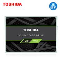 【领券减10】Toshiba/东芝固态硬盘240g TR200 SSD 固态盘 sata3接口2.5寸 台式机电脑笔记本