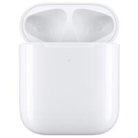 【支持当当礼卡】Apple 无线充电盒 适用于 AirPods/蓝牙耳机 AirPods二代2019新款耳机耳麦盒