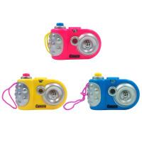 儿童照相机 儿童仿真投影照相机卡通摄像机 宝宝3-4-5-7岁早教教具玩具 照相机