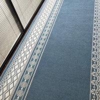 北欧风地毯走廊过道地垫飘窗毯榻榻米垫厨房脚垫长条卧室客厅门垫 卷材宽幅120cm 长1米的价格
