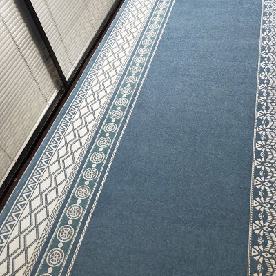 北欧风地毯走廊过道地垫飘窗毯榻榻米垫厨房脚垫长条卧室客厅门垫  卷材宽幅120cm 长1米的价格 可选择固定宽幅,根据实际测量长度选择合