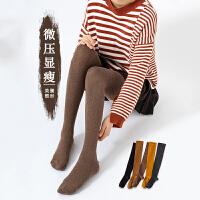 过膝袜子女秋冬季压力瘦腿中筒小腿袜日系黑色高筒长袜半截及膝袜
