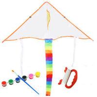 新款 填色风筝 空白风筝儿童卡通手绘风筝 款式不选