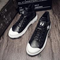 马丁靴男高帮皮靴英伦风短靴2018秋季新款百搭工装靴韩版潮流男靴