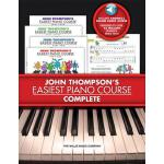 【预订】John Thompson's Easiest Piano Course - Complete: 4-Book