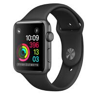 [当当自营] Apple Watch Sport Series 2智能手表(42毫米深空灰色铝金属表壳搭配黑色运动型表